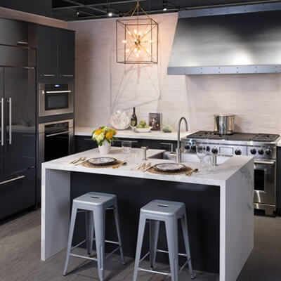 high gloss siteline kitchen designer