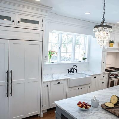 modern kitchen granite countertops - kitchen design builder westborough mass