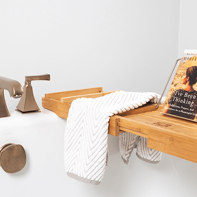 bronze bathroom photos - master bathroom with bronze, brass design builder westborough mass 05