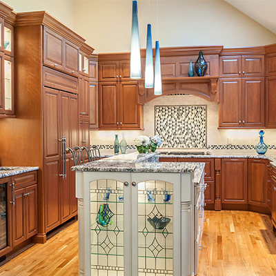 Traditional Cherry Kitchen Design Company In Westborough 2