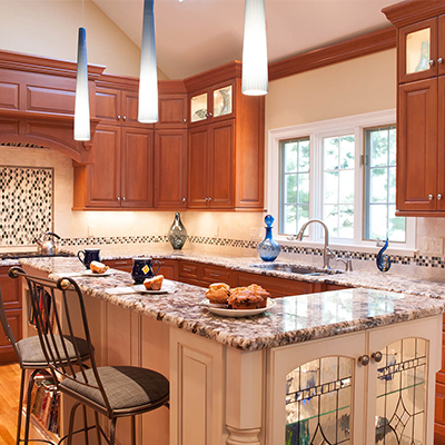 Traditional Cherry Kitchen Design Company In Westborough