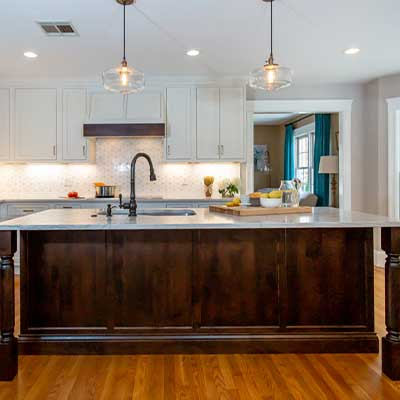 brushed brass kitchen examples - kitchen design build oil rubbed bronze and brass westborough mass-4