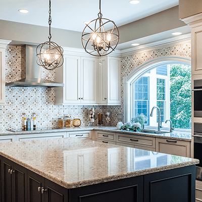 two island kitchen design and build services westborough