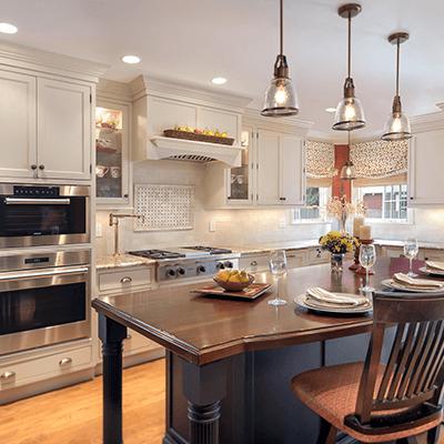 landmark colonial revival kitchen design build services