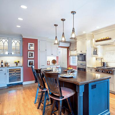 landmark colonial revival kitchen design build services 3