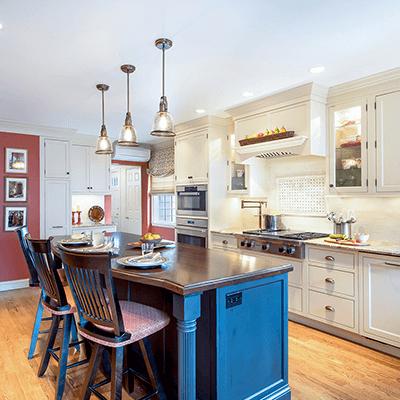 landmark colonial revival kitchen design build services 4