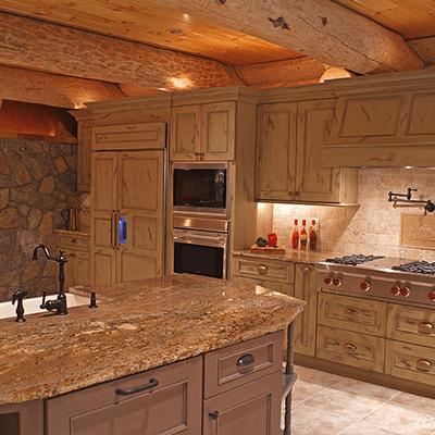 log home addition and design