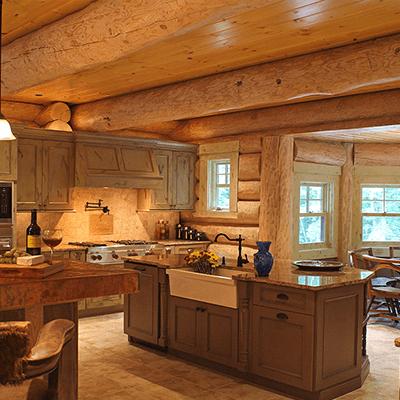 log home addition and design 1