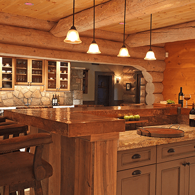 log home addition and design 2