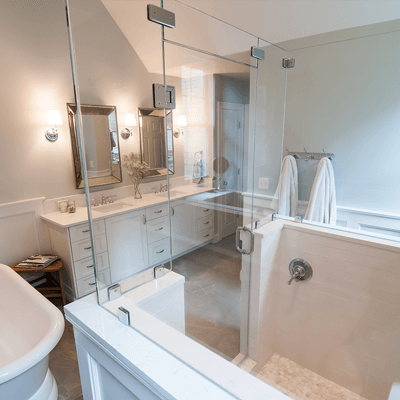 Luxury Transitional Master Bathroom 2