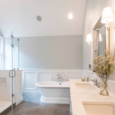 Luxury Transitional Master Bathroom 3
