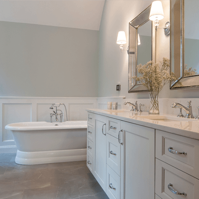 Luxury Transitional Master Bathroom 4