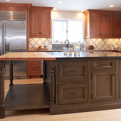 Asian Influence Kitchen Design Company In Westborough MA 1