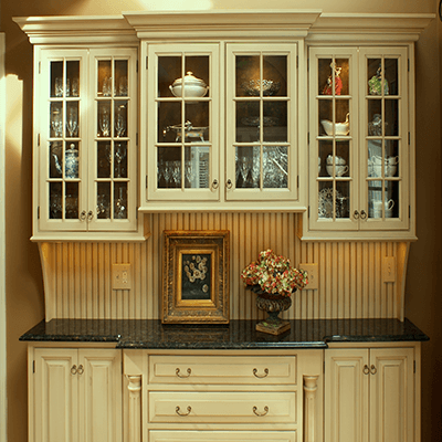 old world style custom kitchen and addition