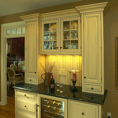 old world style custom kitchen and addition 1