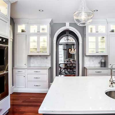 polished nickel envy transitional kitchen resdesign westborough mass-5