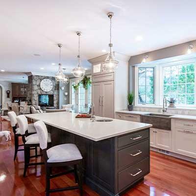 polished nickel envy transitional kitchen resdesign westborough mass-7