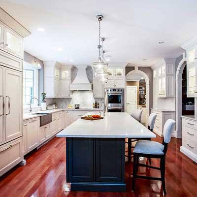 polished nickel envy transitional kitchen resdesign westborough mass-9