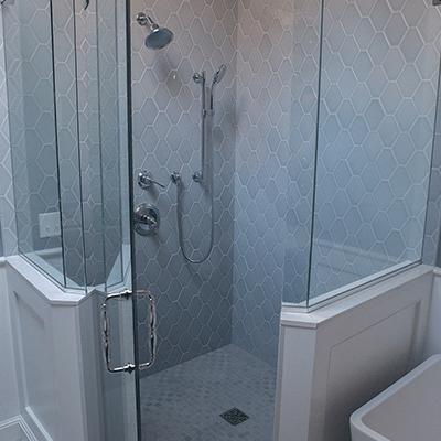 serene bathroom design build services westborough 2
