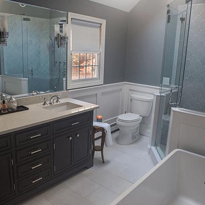 serene bathroom design build services westborough 4