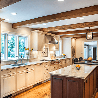Traditional Greenfield Kitchen Design Company In Massachusetts