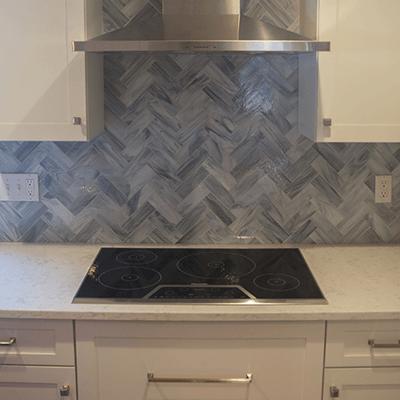 white kitchen design build services southborough