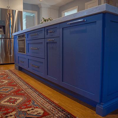 white kitchen design build services southborough 4